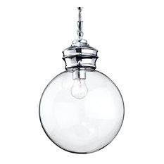 Omar Contemporary Glass Sphere Pendant