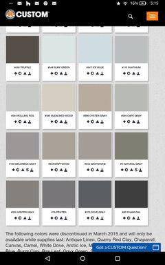 Delorean Gray Or Platinum Grout