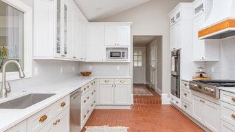 Kitchen Peninsula Design Remodel in Carrboro