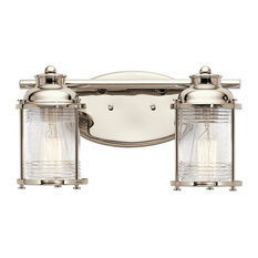 Ashland Bay Bath 2-Light, Polished Nickel