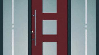 Eingangstür von Pala Fensterbau