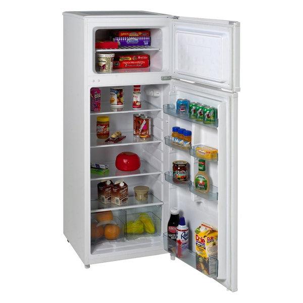 899fbcfe094 Avanti RA7306WT 2-Door Apartment Size Refrigerator