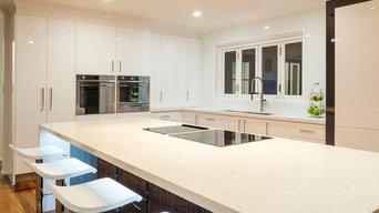 Modern gloss finish kitchen