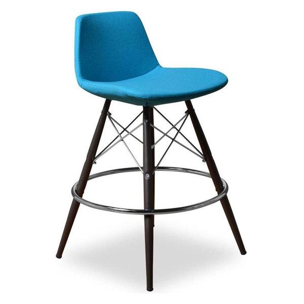 Barstool, Turquoise, Set of 2