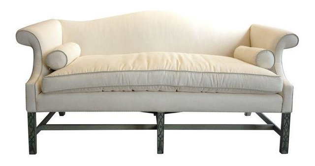 High Quality Kittinger Chippendale Sofa With Fretwork Legs