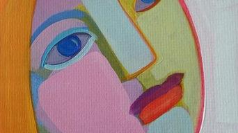 Inspiration ansiktstavlor