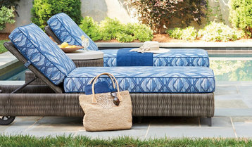Cabanas and Chaise Lounges