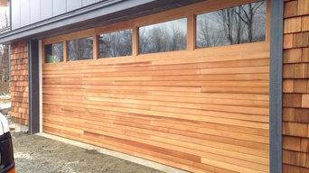 Custom Sawmill Creek Garage Door