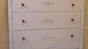 Hand Painted Vintage Dressers