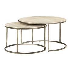 Hammary Furniture   Modern Basics Round Cocktail Table By Hammary, Textured  Bronze   Coffee Tables