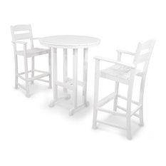 Ivy Terrace Classics 3-Piece Bar Set, White