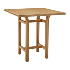 "Tulip 40"" Bar Height Table, Caramelized, 36"""