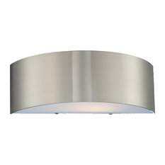 Dervish, 2-Light Sconce, Satin Nickel
