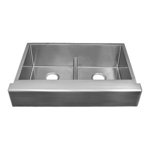 Unique-Fit Apron Sinks Radial Large Single Apron Sink ...