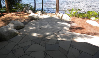 Patio for Cottage on Great Pond