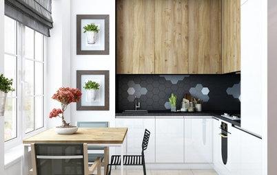 Elegant Beliebte Artikel Ideen Fr Die Gestaltung Kleiner Kchen With Kche  Und Wohnzimmer In Einem Kleinen Raum