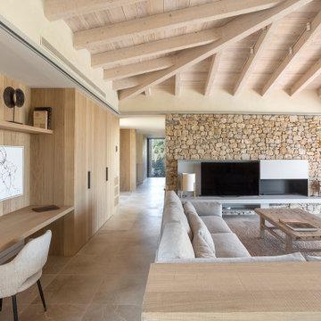 Una vivienda conectada con su entorno