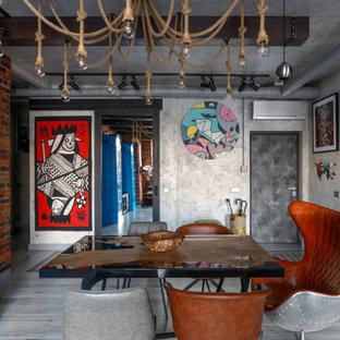 Стильный дизайн: столовая в стиле лофт - последний тренд