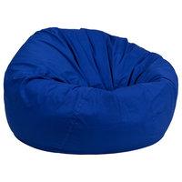 Offex Royal Blue Bean Bag Chair