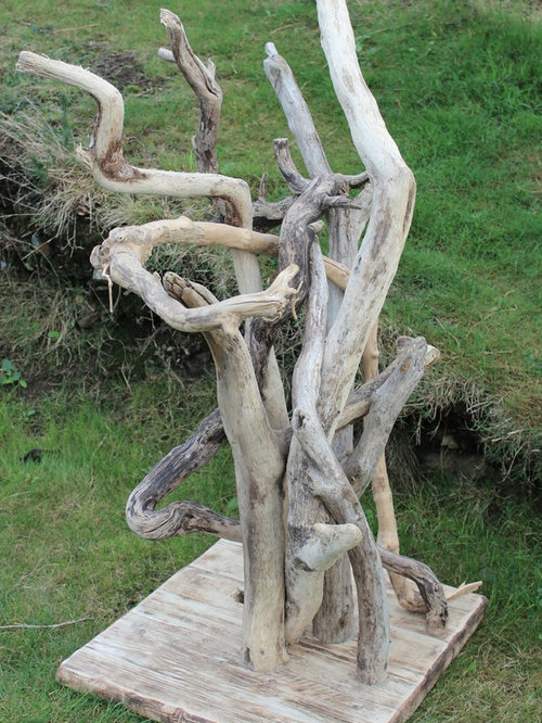 Driftwood Cat Tree: driftwood sculptures for garden