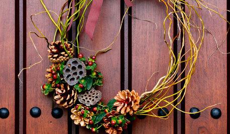 Make a Natural and Wild Holiday Wreath