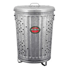 Behrens RB20 Rubbish Burner & Composter w/Large Handles & Cover, 20-Gallon