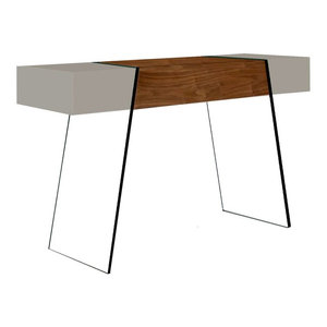 Cameron Gold Console Table Contemporary Console Tables