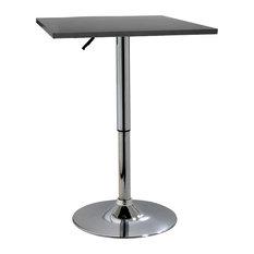 Amerihome Btablewsq Classic Wood Top Bistro Table Square