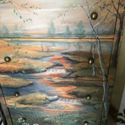 Pieces hand painted furniture's photo