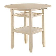 Tartys Counter Height Table, Cream