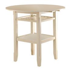 Acme Tartys Counter Height Table, Cream