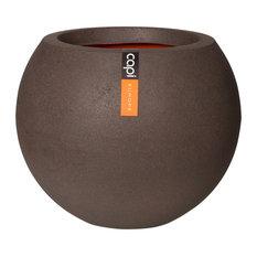 Tutch Round Plant Pot, Brown, Medium