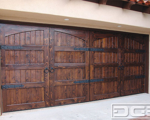 Spanish Colonial 14 Custom Architectural Garage Door - Garage Doors And Openers : spanish doors - Pezcame.Com