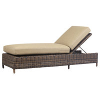 Emma Mason Signature Delmar Outdoor Chaise Lounge, Chestnut, SOU0024