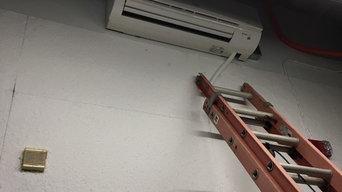 Mitsubishi Ductless Installation