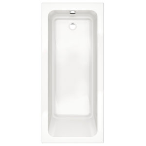 Options Modern Single-Ended White Bath Tub, 1700x750 mm
