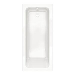 Options Modern Single-Ended White Bath Tub, 1700x750 mm