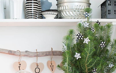Not Up for a Big, Decorated Tree? Try One of These Ideas