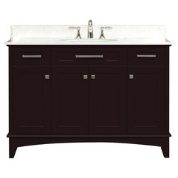 Trend Contemporary Bathroom Vanities And Sink Consoles by Water Creation