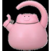 Pink Pig Whistling Kettle