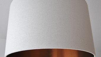 Lampenschirme mit Kupferfolie