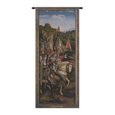 """Knights of Christ European Wall Tapestry, 24""""x57"""""""