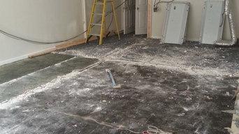 Tile Work - Before