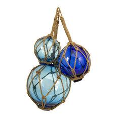Buoyant Glass Floats, Set of 3