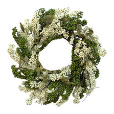 "24"" Spearmint Soft Touch Wreath"