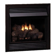 "Vent-Free 24"" Natural Gas Millivolt Control Fireplace"