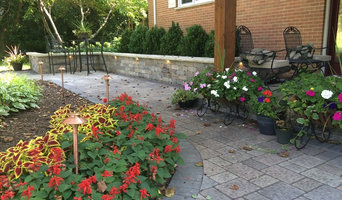 Paver Patio, Cedar Deck and Paver Entryway