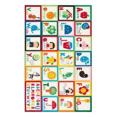nuLOOM Alphabet Block Kids Area Rug, Multi 8'x10'