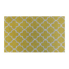 Doormat Yellow Tile Pattern Design Doormats