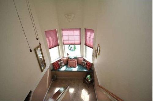 Terrific Window Treatments For Bay Window Seat On Stairs Machost Co Dining Chair Design Ideas Machostcouk